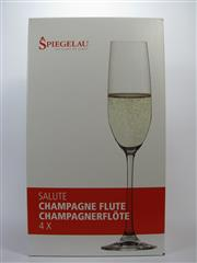 Sale 8353A - Lot 810 - 12x Spiegelau Salute Champagne Flutes (210ml) - new in box