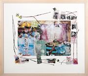 Sale 8440A - Lot 131 - Sachiko Kotaka - Natsu Summer & Love 65 x 75cm