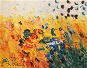 Sale 8604 - Lot 2008 - John Perceval (1923 - 2000) - Swy-Game 70 x 90cm