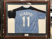 Sale 8941 - Lot 2079 - Sydney FC Jersey, signed by Petrovski - worn at the A-League Grand Final where Petrovski scored the winning goal