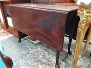 Sale 8831 - Lot 1022 - George III Mahogany Drop-Leaf Table