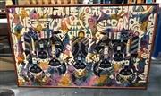Sale 8816 - Lot 2084 - Set of 2 Framed Balinese Batik Panels