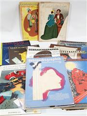 Sale 8822B - Lot 804 - Collection of Gebrauchsgraphik International Advertising Art Magazines, incl. 20s, 30s, etc