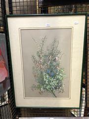 Sale 8861 - Lot 2031 - Ellis Rowan Chromolithograph, 67 x 51cm (frame) -