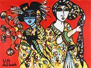 Sale 8906 - Lot 2001 - Yosi Messiah (1964 - ) - Life Is Beautiful 75 x 100 cm