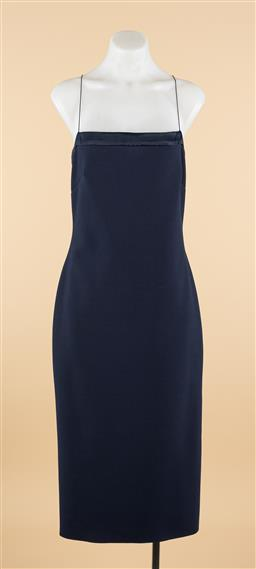 Sale 9250F - Lot 56 - A Bec & Bridge navy strappy dress, size 14, new.