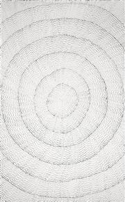 Sale 8394 - Lot 571 - Lily Kelly Napangardi (1948 - ) - Rockholes 150 x 95cm
