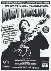 Sale 8766A - Lot 5065 - The Sensational Bobby Radcliff - screenprint