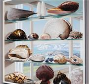 Sale 8943A - Lot 5004 - Ralph Malcolm Warner (1902 - 1966) - The Shells of South Australia, c1959 gouache