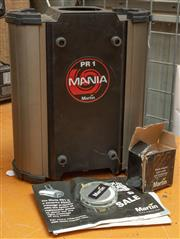 Sale 8984M - Lot 8 - A Martin Mania  PR1 - a 250 watt message projector with instruction manual and spare discs.