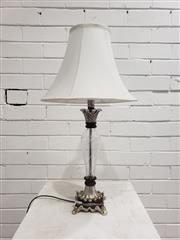 Sale 9080 - Lot 1015 - Glass Base Table Lamp