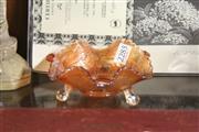 Sale 8362 - Lot 61 - Carnival Glass Fish Dish