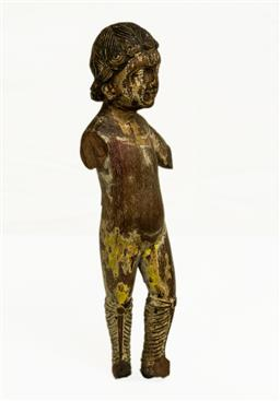 Sale 8575J - Lot 71 - A C19th Santos figure, H 26cm