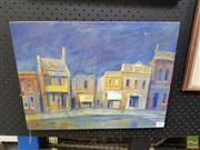 Sale 8544 - Lot 2007 - Greg Frawley (1947 - ) - Inner City Rhythm, Newtown 33.5 x 44.5cm