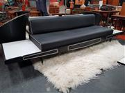 Sale 8822 - Lot 1033 - Pearsall Three Seater Sofa with Tables to Ends