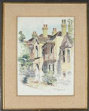Sale 8867A - Lot 5068 - Cedric Emanuel (1906 - 1995) - Paddington 35.5 x 26.5cm