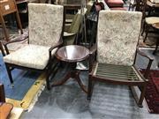 Sale 8908 - Lot 1073 - Parker Knoll Rocker and Armchair