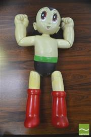 Sale 8310 - Lot 1027 - Vintage 1970s Volks Astro Boy Mannequin. Designed by Zouki Mura for Tezuka Productions (a/f)