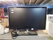 Sale 8582 - Lot 2338 - Samsung TV with Remote (in office)