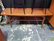 Sale 8607 - Lot 1069 - Teak Tiered Coffee Table