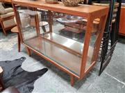 Sale 8684 - Lot 1095 - Vintage Teak Display Case