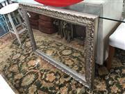 Sale 8676 - Lot 1299 - Ornate Framed bevelled Edge Mirror