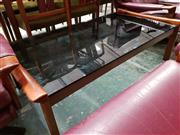Sale 8930 - Lot 1079 - Tessa Glass Top Coffee Table