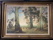Sale 9011 - Lot 2058 - Arrowsmith - Rural Scene, oil on board, SLR -