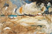 Sale 9028 - Lot 2048 - Edward Hall (1930 - ) - Beach Abstract, 1966 29 x 45 cm (frame: 38 x 54 x 2 cm)