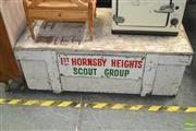 Sale 8440 - Lot 1075 - Rustic Timber Tool Box