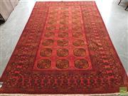 Sale 8480 - Lot 1049 - Vintage Afghan Qunduzi - approx. 40 years old (295 x 190cm)
