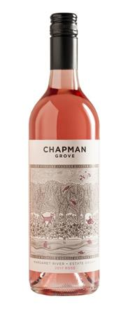 Sale 8528W - Lot 91 - 12x 2017 Chapman Grove Estate Rose. Bright and vibrantly rich in colour with a lovely perfume and hints of wild raspberries dusted...