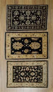 Sale 8576C - Lot 13 - 3 x Afghan Chobi Mats 95cm x 60cm