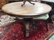 Sale 8831 - Lot 1065 - Early Victorian Rosewood Supper Table