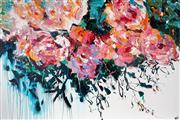 Sale 9021 - Lot 533 - Cheryl Cusick - Off The Garden Path 101.5 x 152.5 cm