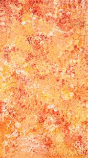 Sale 8583 - Lot 531 - Polly Ngale (c1940 - ) - Bush Plum 172 x 96cm