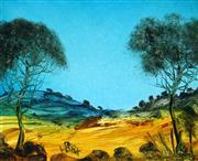 Sale 9013 - Lot 569 - Kevin Charles (Pro) Hart (1928 - 2006) - Landscape 23 x 28 cm (frame: 44 x 49cm)