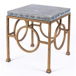 Sale 9199J - Lot 74 - A Deco style occasional table, Height 55cm x Width 45cm x Depth 45cm