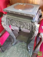 Sale 8469 - Lot 1023 - Chinese Jardiniere Stand