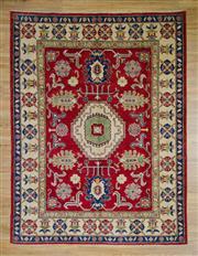 Sale 8576C - Lot 15 - Afghan Kazak 241cm x 184cm