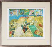 Sale 8888 - Lot 2037 - Artist Unknown - Israel 38 x 46.5cm