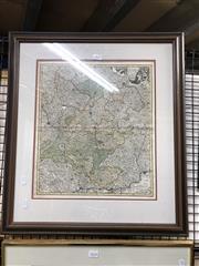 Sale 8903 - Lot 2037 - Antique Map - Weigels Circulus Franconicus ad Orientum hand-coloured engraving
