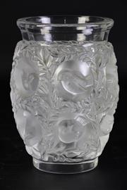 Sale 8989 - Lot 6 - Lalique Crystal Bagatelle Vase (H:17cm)