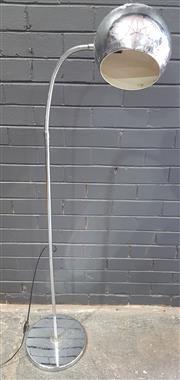 Sale 8979 - Lot 1091 - Chrome Snake Neck Floor Lamp (h:150cm)