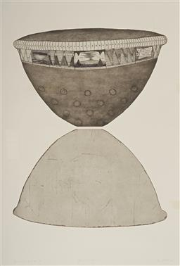 Sale 9112A - Lot 5005 - Brian Hirst (1956 - ) - Offering Bowl & Shadow (Object & Image Series III), 1997 146.5 x 98.5 cm (frame: 180 x 132 x 5 cm)