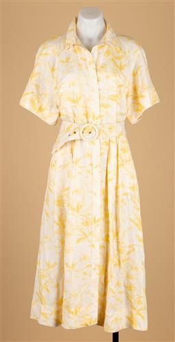 Sale 9250F - Lot 16 - A Rebecca Vallance yellow dress, size AU14