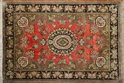 Sale 8290A - Lot 64 - Persian Pure Silk Qum 150cm x 100cm RRP $6000