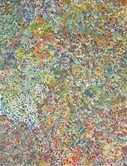 Sale 8321 - Lot 550 - Polly Ngale (c1940 - ) - Bush Plums 201 x 154cm