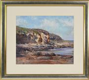Sale 8358 - Lot 504 - Robert Simpson (1955 - ) - Coastal Scene, 1984 37 x 44cm