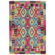 Sale 9061C - Lot 42 - Indian Maymana Kilim, 160x230cm, Handspun Wool